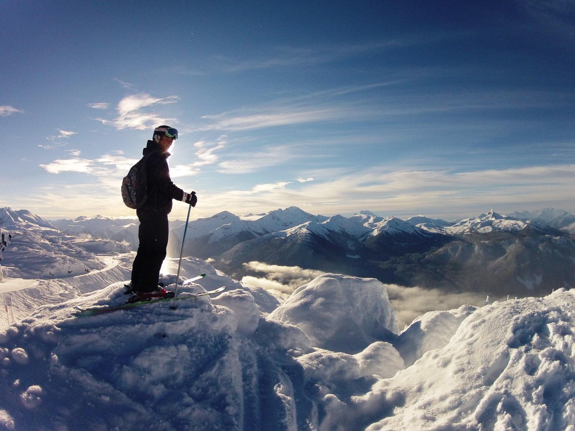 skiing at Silverton Mountain